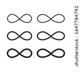 hand drawn infinity symbol ...   Shutterstock .eps vector #1647784792