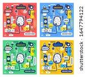 vector set of creative business ... | Shutterstock .eps vector #1647794122