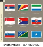 postage stamp with flag ...   Shutterstock .eps vector #1647827932