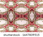 watercolor ethnic design.... | Shutterstock . vector #1647839515
