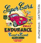 coast to coast rally   vector... | Shutterstock .eps vector #164784536