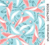vector seamless pattern with... | Shutterstock .eps vector #1647903508