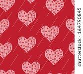love seamless pattern. seamless ... | Shutterstock . vector #164790845