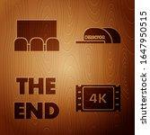 set 4k movie  tape  frame  ...   Shutterstock .eps vector #1647950515