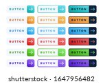 colorful vector button set on...