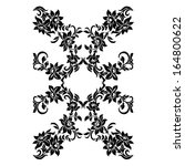 decorative elements pattern... | Shutterstock . vector #164800622