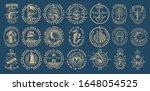 the biggest bundle of vintage... | Shutterstock .eps vector #1648054525