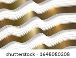 abstract gold light threads...   Shutterstock .eps vector #1648080208