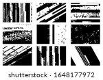 9 glitch overlay pixelated... | Shutterstock .eps vector #1648177972