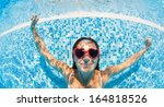 Underwater Woman Portrait With...