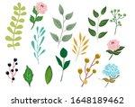 big set of elements  ... | Shutterstock .eps vector #1648189462
