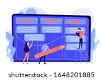 tiny business people and... | Shutterstock .eps vector #1648201885