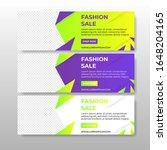 modern banner template  for...   Shutterstock .eps vector #1648204165