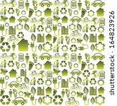 eco design over white... | Shutterstock .eps vector #164823926