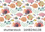 vector seamless pattern with... | Shutterstock .eps vector #1648246138