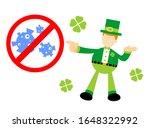leprechaun shamrock celtic... | Shutterstock .eps vector #1648322992