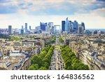 la defense business area  la... | Shutterstock . vector #164836562