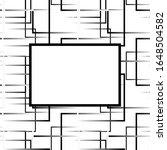 art deco style pattern on white ...   Shutterstock . vector #1648504582