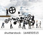 conceptual image of... | Shutterstock . vector #164850515