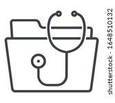 medical fole line icon on white ... | Shutterstock .eps vector #1648510132