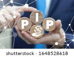 Small photo of PIP Percentage In Point Finance Business Concept.