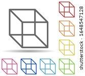 3 dimensional cube in multi...