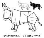 vector monochrome image of... | Shutterstock .eps vector #1648597945