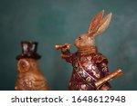 Antique Rabbit And Owl...