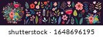 beautiful romantic flower... | Shutterstock .eps vector #1648696195