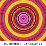abstract moving circular lines  ... | Shutterstock . vector #1648818415