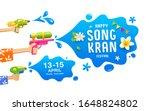 songkran festival thailand gun...   Shutterstock .eps vector #1648824802