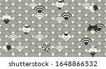 minimal modern cute seamless... | Shutterstock .eps vector #1648866532