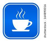 cafe sign | Shutterstock .eps vector #164890016