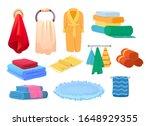 bath accessories cartoon set....   Shutterstock .eps vector #1648929355