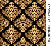 golden luxury decorative... | Shutterstock .eps vector #1648960225