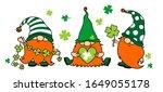 3 st. patrick's day irish... | Shutterstock .eps vector #1649055178
