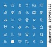 Editable 36 Fashion Icons For...