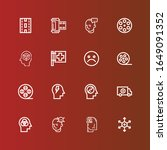 editable 16 negative icons for... | Shutterstock .eps vector #1649091352