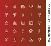 editable 25 illumination icons...   Shutterstock .eps vector #1649106802