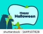 happy halloween  beautiful...   Shutterstock .eps vector #1649107828