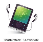music player icon | Shutterstock .eps vector #164920982