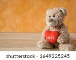 Teddy Bear With A Red Heart