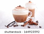 Coffee Or Chocolate With Cream
