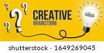 creative vector brainstorm ...   Shutterstock .eps vector #1649269045