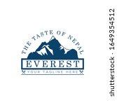 vector logo of everest... | Shutterstock .eps vector #1649354512