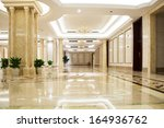 luxury lobby | Shutterstock . vector #164936762