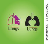 human lungs icon vector...   Shutterstock .eps vector #1649372902