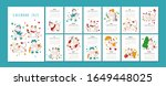 white ox calendar or planner a4 ...   Shutterstock .eps vector #1649448025