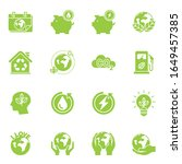 go green. earth day. save the...   Shutterstock .eps vector #1649457385