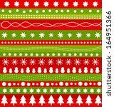 christmas pattern in... | Shutterstock .eps vector #164951366